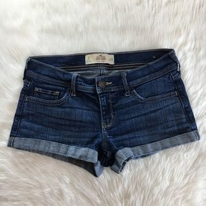 Hollister Low-Rise Short-Short Denim Shorts 7/28